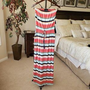 Cynthia Rowley Tube Top Maxi Dress Size S
